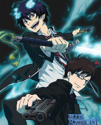 Blue Exorcist: Rin & Yukio Wall Scroll