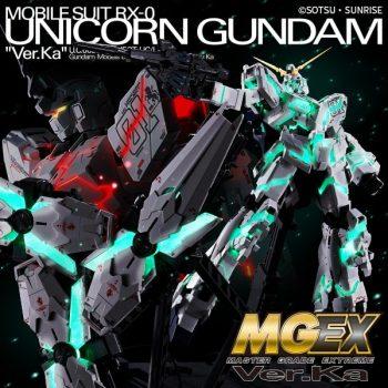 1/100 Master Grade EX Unicorn Gundam Pose 1