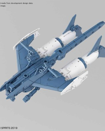 Extended Armament Vehicle Attack Submarine Blue Gray Pose 1