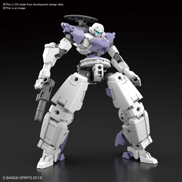 1/144 bEXM-14T Cielnova White Pose 1