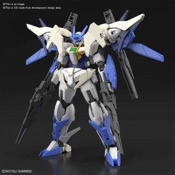 High Grade 00 Gundam Type New MS Pose 1