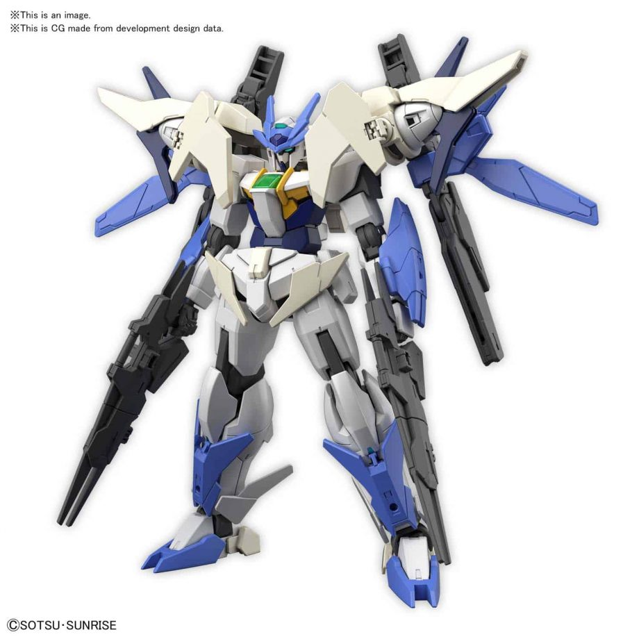 High Grade 00 Gundam Type New MS Pose 2