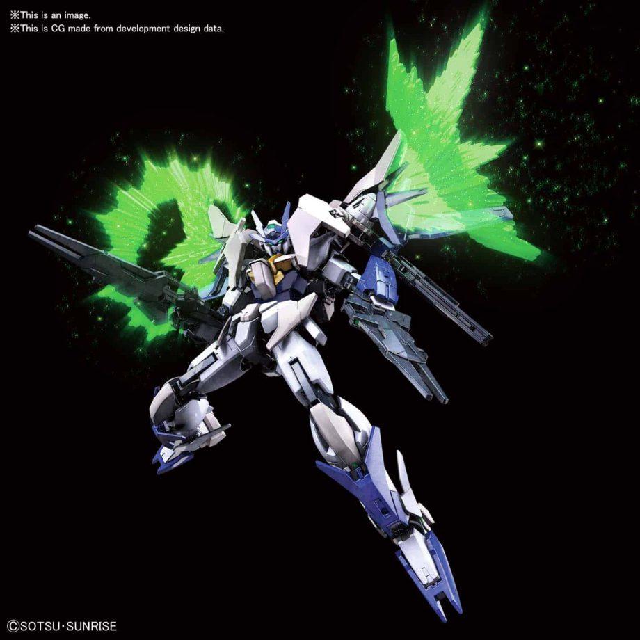 High Grade 00 Gundam Type New MS Pose 3
