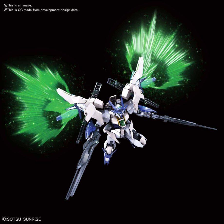 High Grade 00 Gundam Type New MS Pose 4