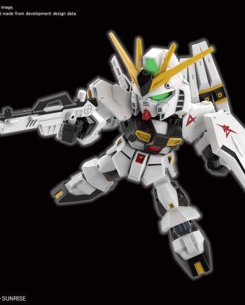 SD EX Standard Nu Gundam Pose 1