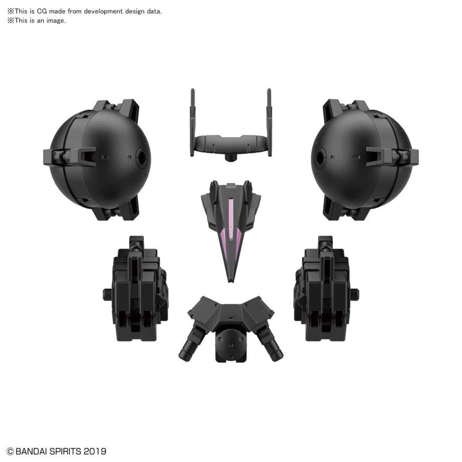 Cielnova Option Armor For High Mobility Black Pose 3