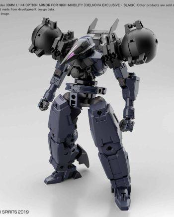 Cielnova Option Armor For High Mobility Black Pose 1
