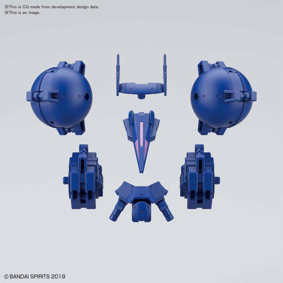 Cielnova Option Armor For High Mobility Blue 4