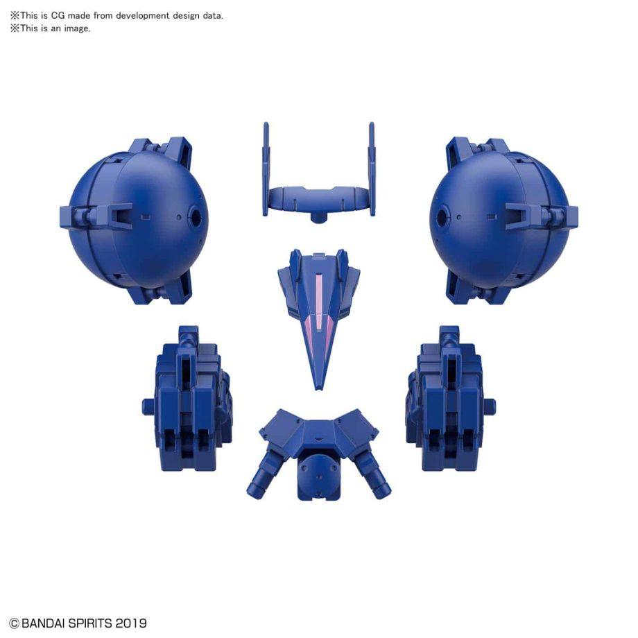 Cielnova Option Armor For High Mobility Blue 3