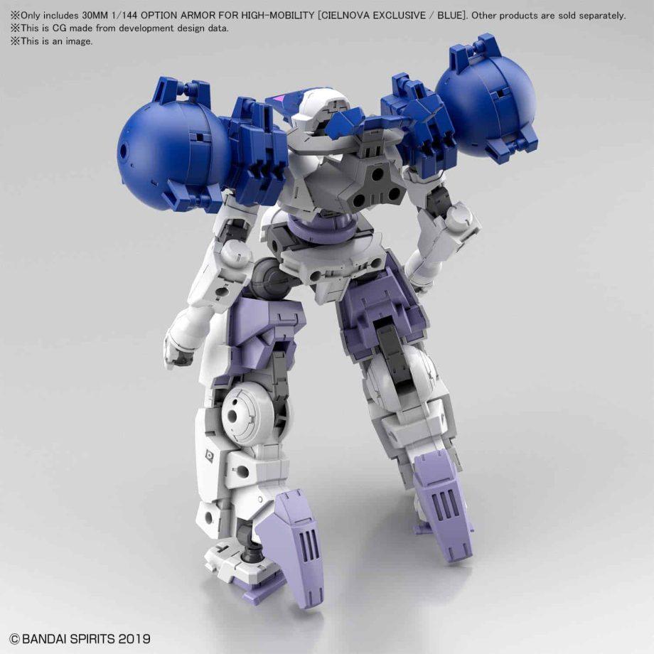 Cielnova Option Armor For High Mobility Blue 2