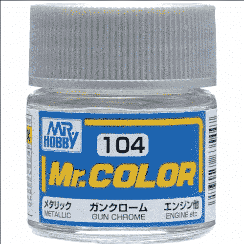Mr. Color Metallic Gun Chrome C104