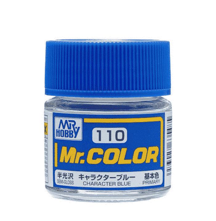 Mr. Color Semi Gloss Character Blue C110