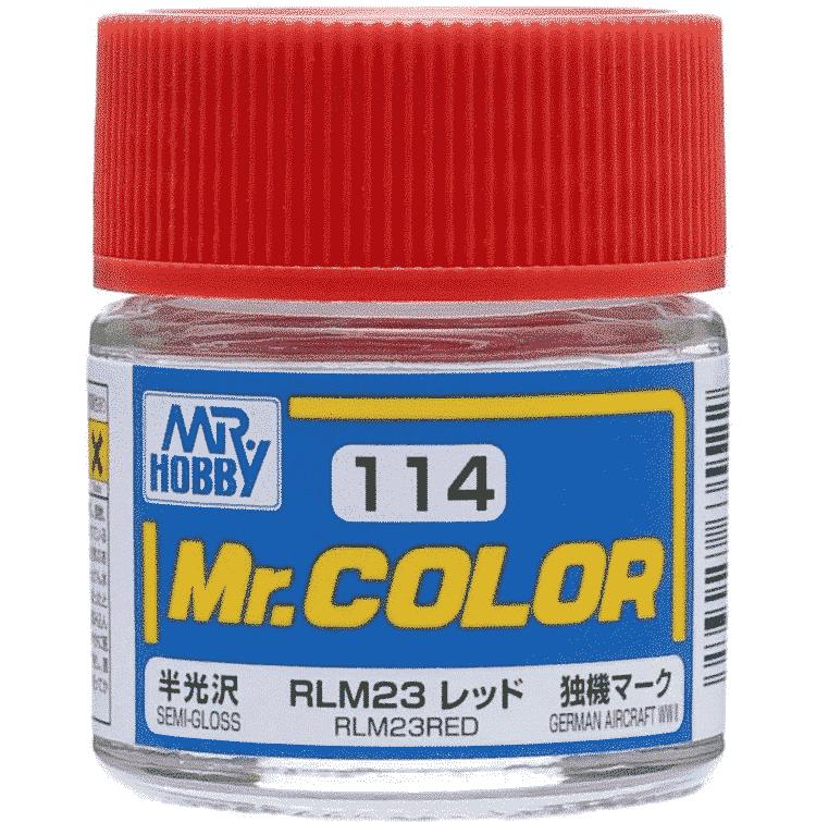 Mr. Color Semi Gloss RLM23 Red C114