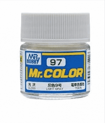 Mr. Color Gloss Light Gray C97