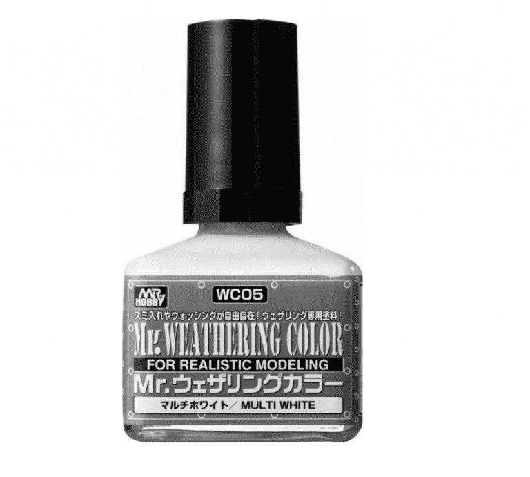 Mr. Weathering Color Filter Liquid Multi White WC05