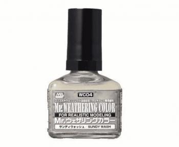 Mr. Weathering Color Filter Liquid Sundy Wash WC04