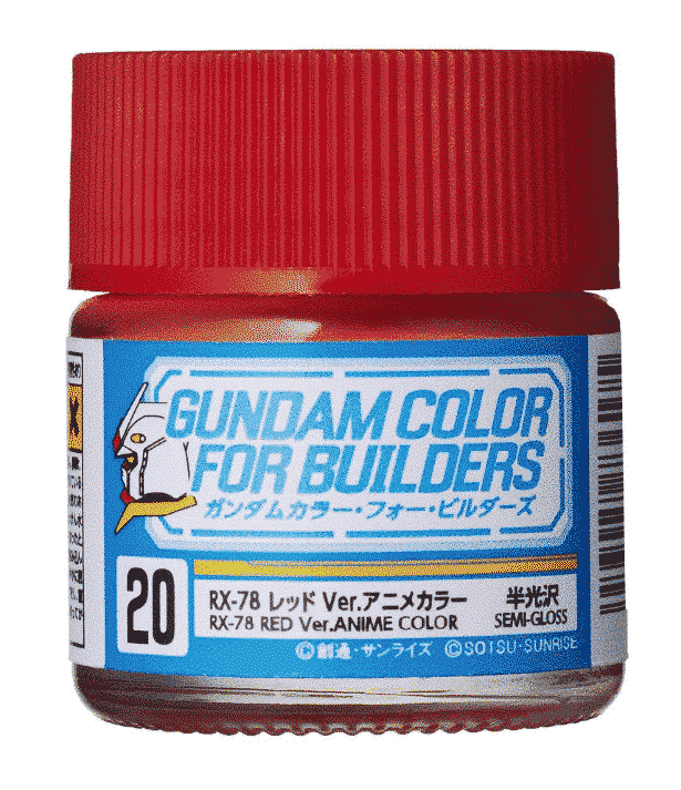 Mr. Color Gundam G Color Semi Gloss RX-78 Red Ver Anime Color UG20