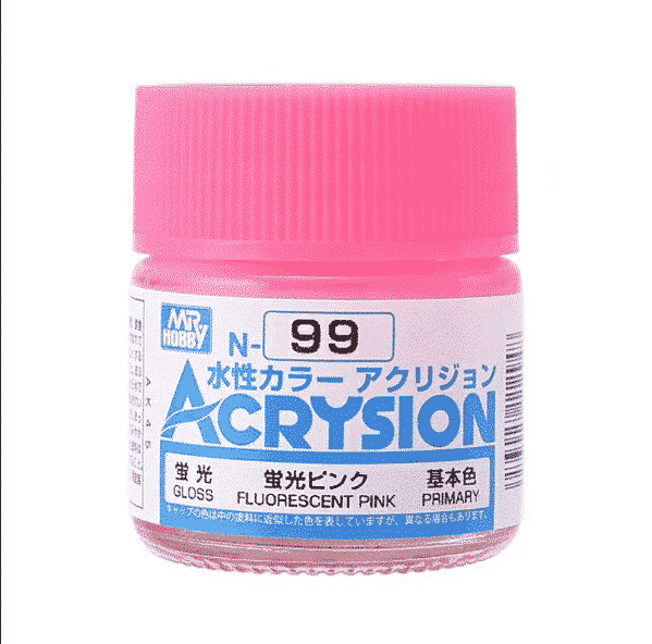 Mr. Color Acrysion Semi Gloss Fluorescent Pink N99