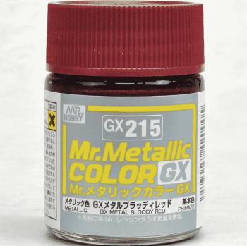 Mr. Metallic Color GX Metal Bloody Red GX215