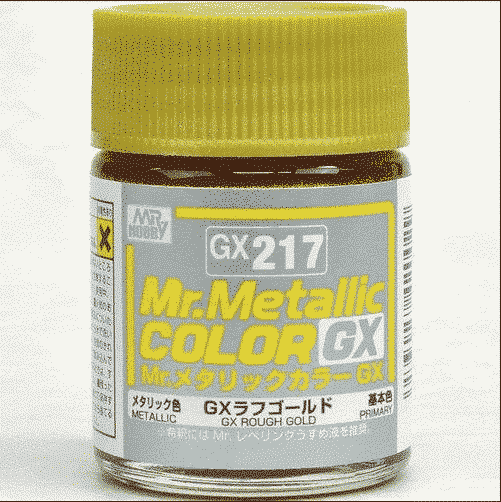 Mr. Metallic Color GX Metal Rough Gold GX217