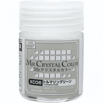 Mr. Crystal Color Tourmaline Green XC06