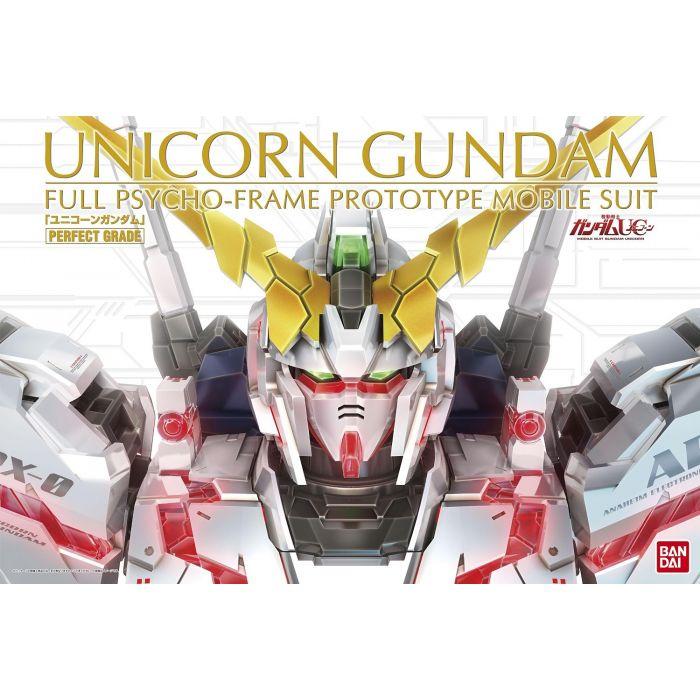 1/60 Perfect Grade RX-0 Unicorn Box