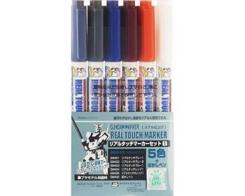 Gundam Marker Real Touch Markers Set 1