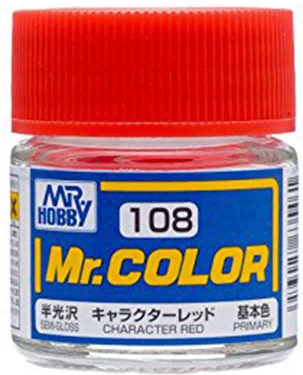 Mr. Color Semi Gloss Character Red C108