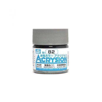 Mr. Color Acrysion Semi Gloss Dark Gray 1 N82