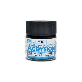 Mr. Color Acrysion Semi Gloss Navy Blue N54