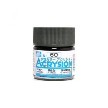 Mr. Color Acrysion Semi Gloss IJA Green N60