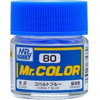 Mr. Color Semi Gloss Cobalt Blue C80