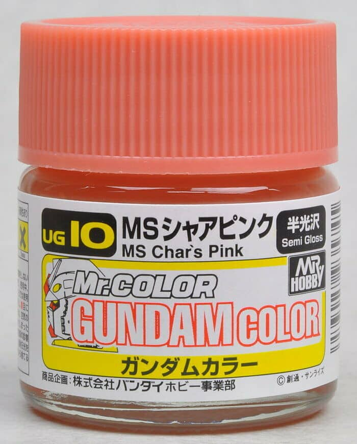 Mr. Color Gundam G Color MS Char Pink Char Custom UG10