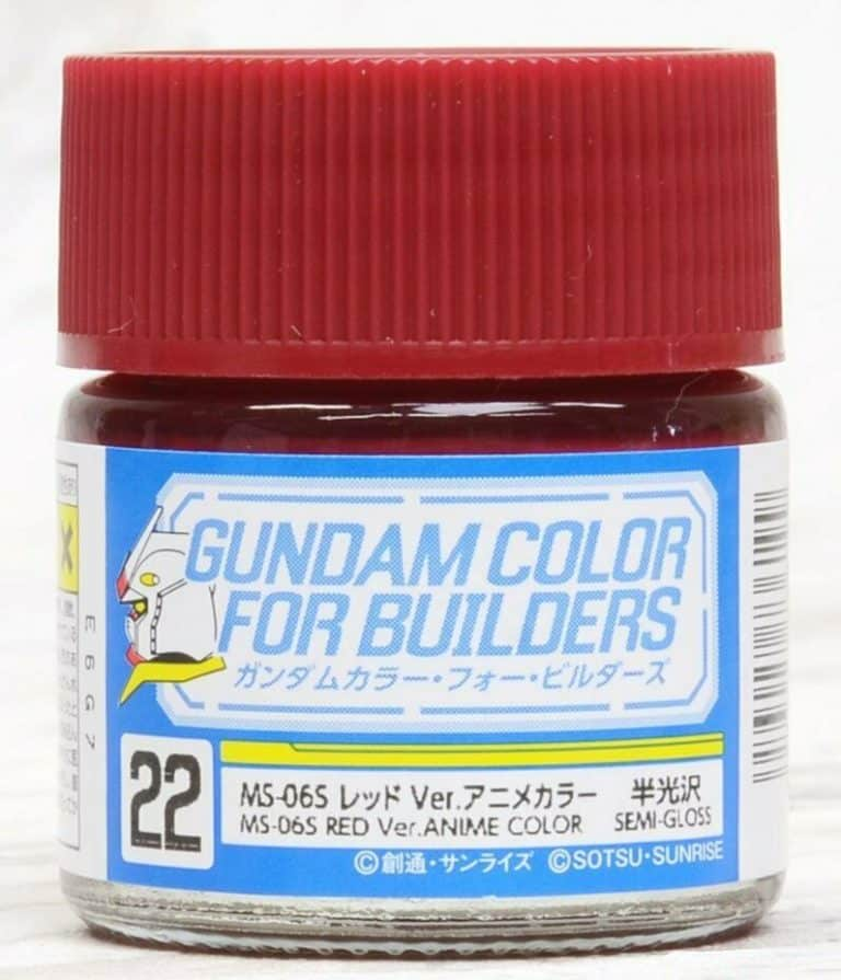 Mr. Color Gundam G Color Semi Gloss MS-06S Red Ver Anime Color UG22