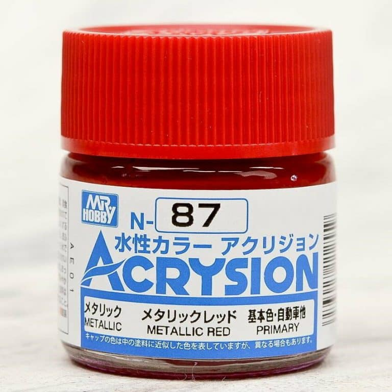 Mr. Color Acrysion Metallic Red N87