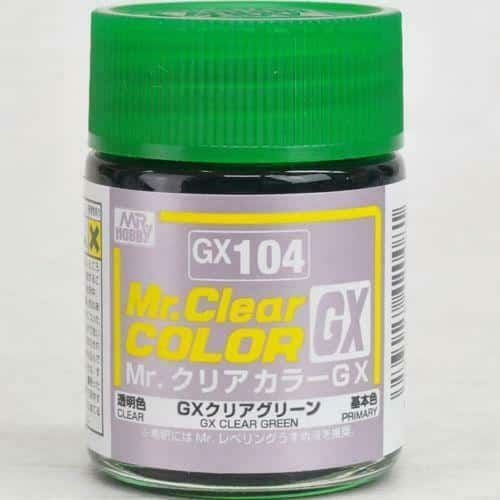 Mr. Clear Color GX Gloss Clear Green GX104