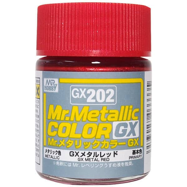 Mr. Metallic Color GX Metal Red GX202