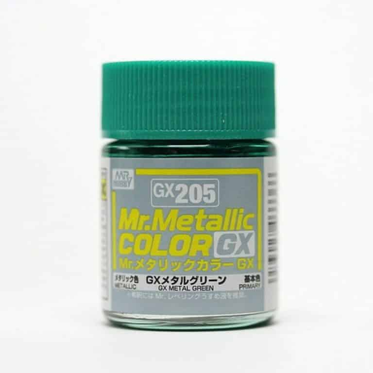 Mr. Metallic Color GX Metal Green GX205