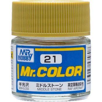 Mr. Color Semi Gloss Middle Stone C21
