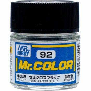 Mr. Color Semi Gloss Black C92