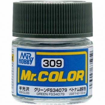 Mr. Color Semi Gloss Green FS34079 C309