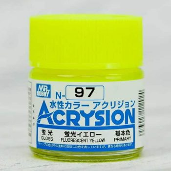 Mr. Color Acrysion Fluorescent Yellow N97