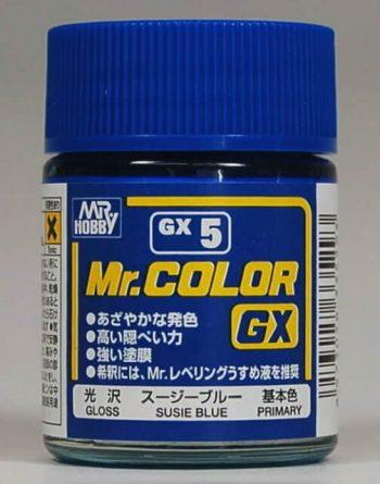 Mr. Color GX Gloss Susie Blue GX5