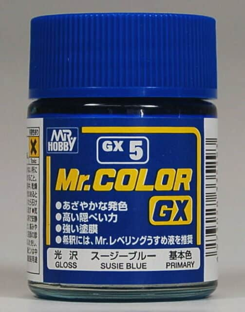 Mr. Color GX Gloss Susie Blue GX5