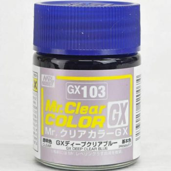 Mr. Clear Color GX Gloss Deep Clear Blue GX103