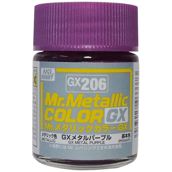 Mr. Metallic Color GX Metal Purple GX206