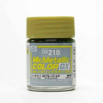 Mr. Metallic Color GX Metal Blue Gold GX210