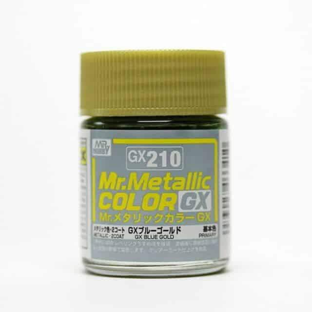 Mr. Metallic Color GX Metal Blue Gold GX210