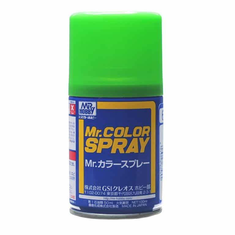 Mr. Color Spray Gloss Yellow Green S64
