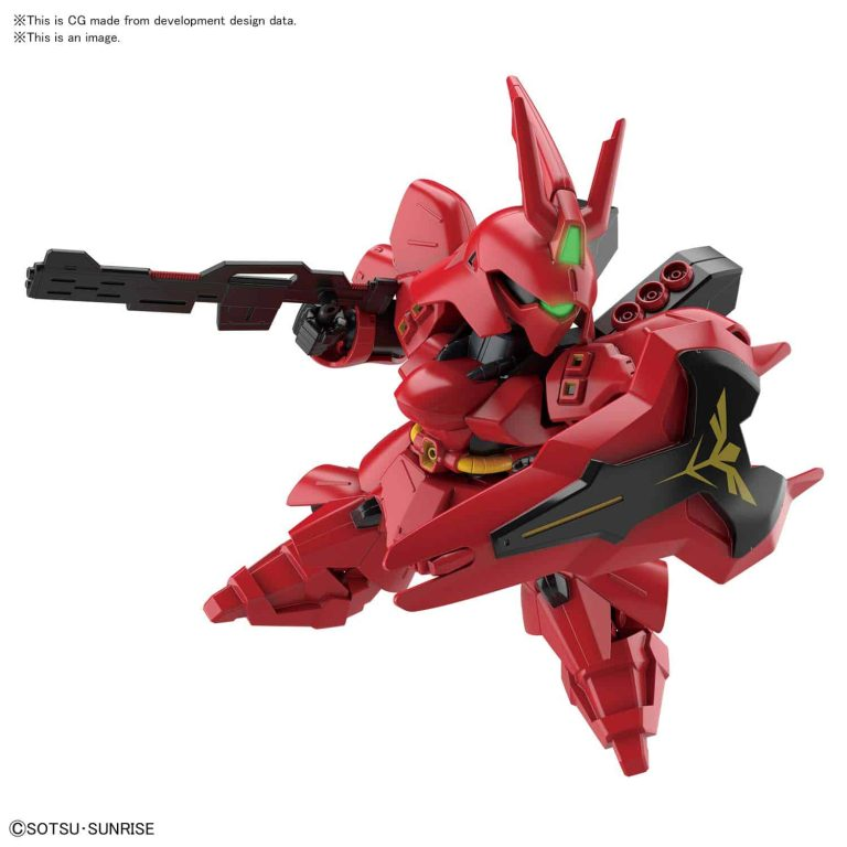 SD EX Standard Sazabi Pose 1